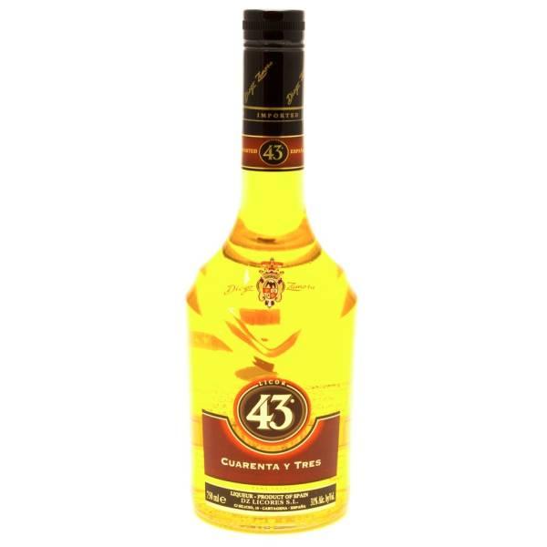 43 Cuarenta Y Tres Liqueur 750ml Beer Wine And
