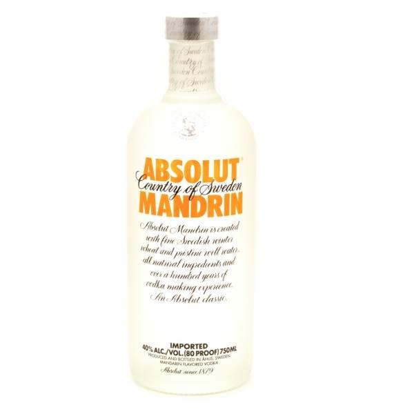 Absolut - Mandrin Vodka - 750ml