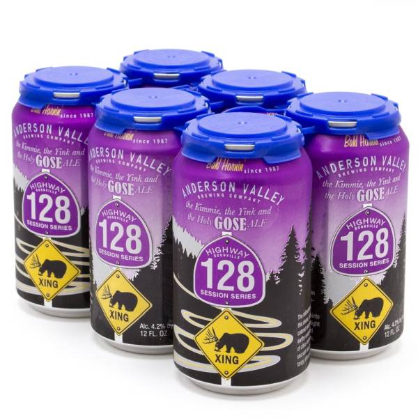 Anderson Valley - Highway 128 Ale - 12oz Can - 6 Pack
