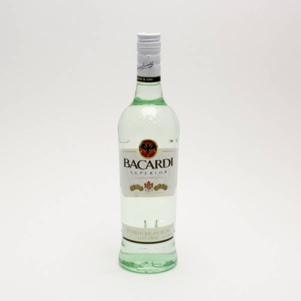 Bacardi - Superior Original Rum - 750ml