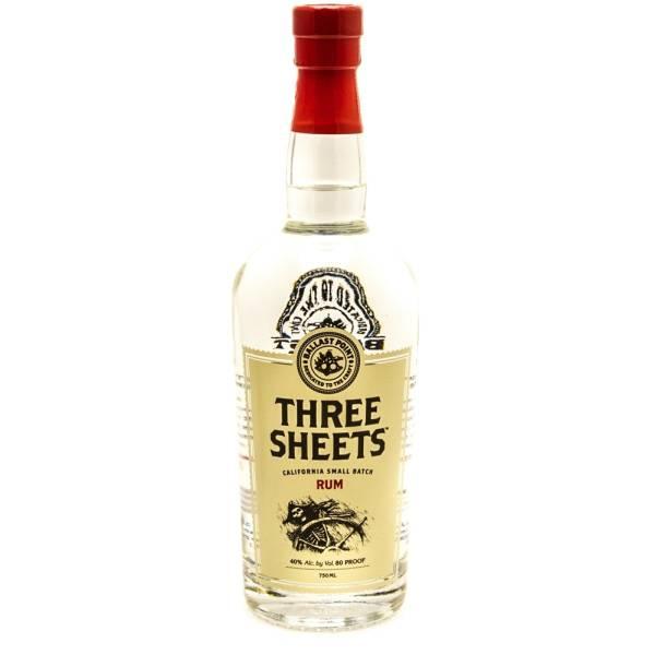 Ballast Point Spirits - Three Sheets Rum - 750ml