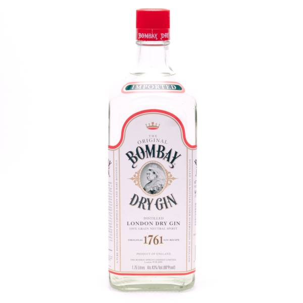Bombay - Dry Gin - 86 Proof - 1.75L