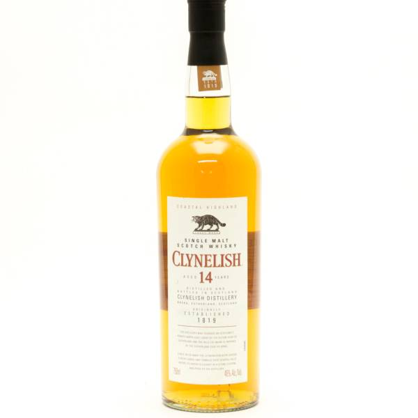 Clyneslish - Aged 14 Years - Single Malt Scotch Whisky - 750ml