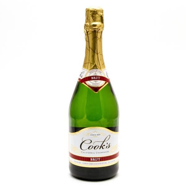 Cook's - Brute Medium Dry - California Champagne - 750ml