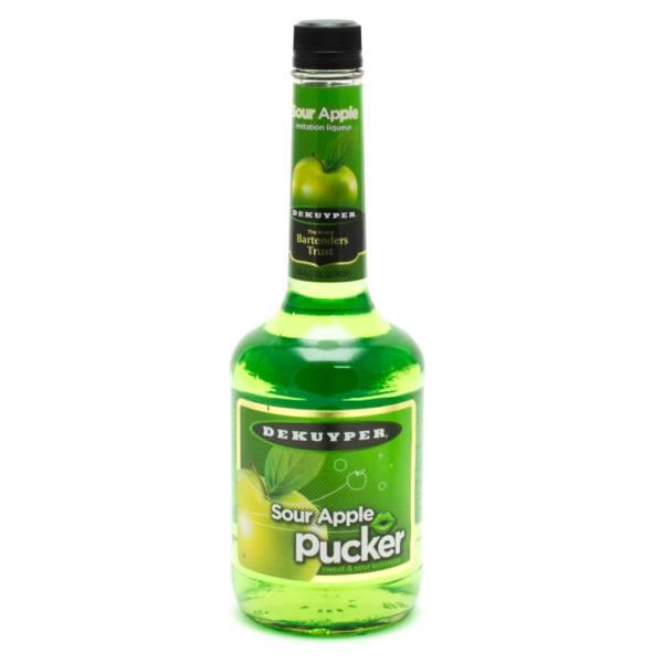 Dekuyper - Sour Apple Pucker Sweet and Sour Schnapps - 750ml