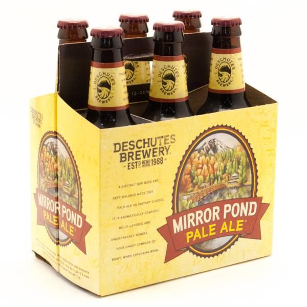 Deschutes - Mirror Pond Pale Ale - 12oz Bottle - 6 Pack