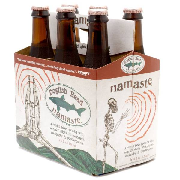 Dogfish Head - Namaste - 12oz Bottle - 6 Pack