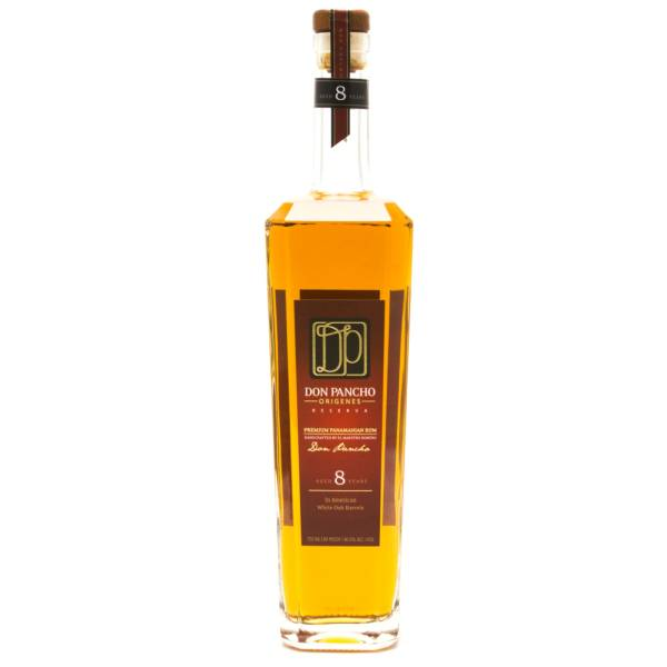 Don Pancho - Panamanian Rum - Aged 8 Years - 750ml