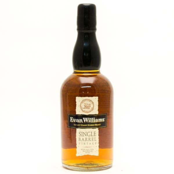 Evan Williams - Single Barrel Vintage - Bourbon Whiskey - 750ml