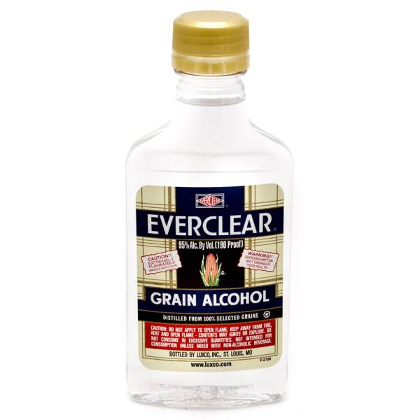 Everclear - Grain Alcohol - 200ml