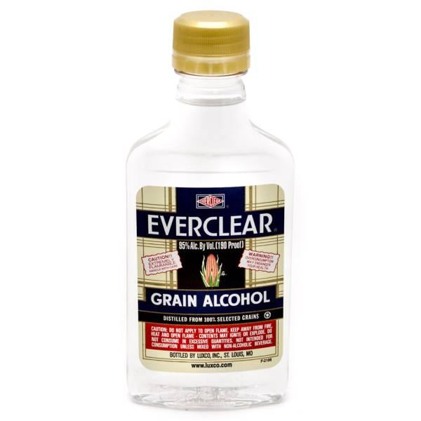 Everclear - Grain Alcohol - 200ml