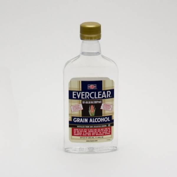 Everclear - Grain Alcohol - 375ml