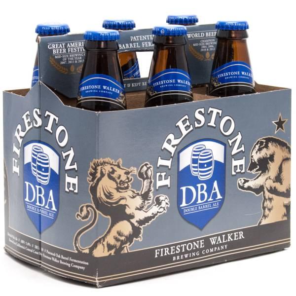 Firestone Walker - DBA Double Barrel Ale - 12oz Bottle - 6 Pack