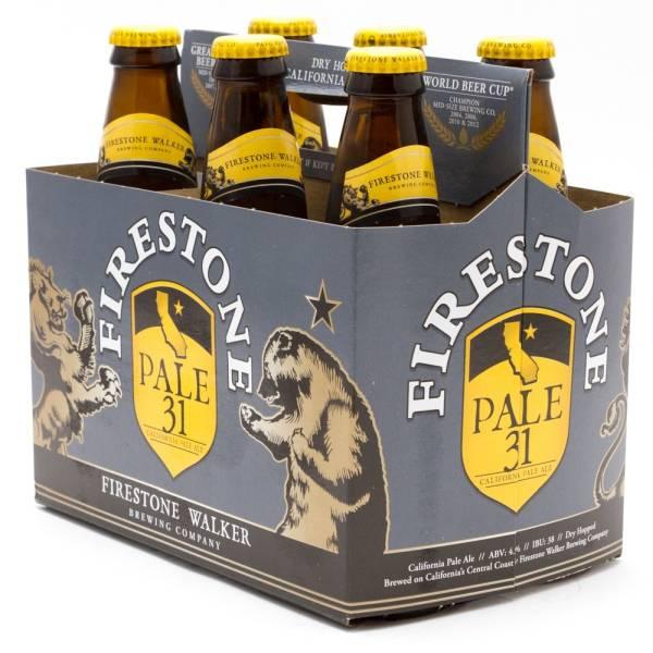 Firestone Walker - Pale 31 California Pale Ale - 12oz Bottles - 6 pack