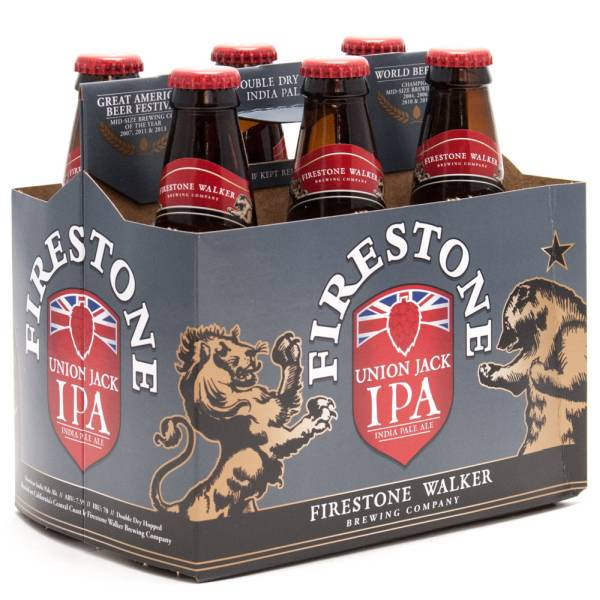 Firestone Walker - Union Jack IPA Barrel Ale - 12oz Bottle - 6 Pack