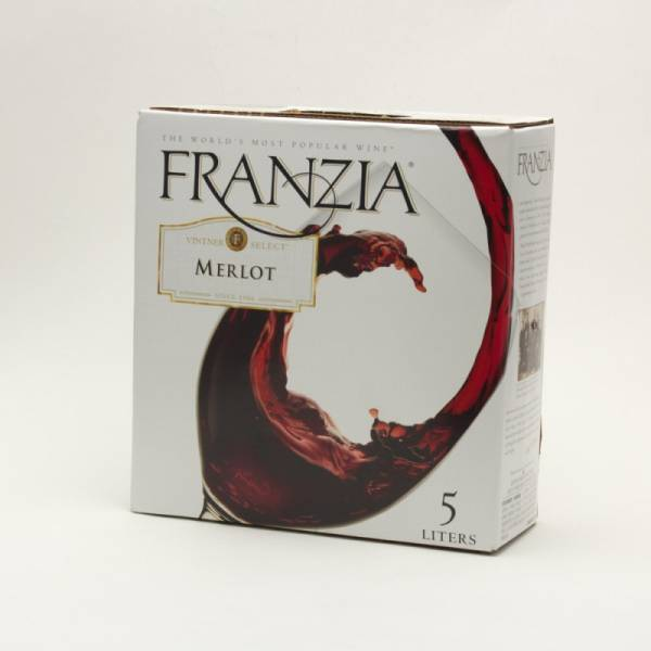 Franzia - Merlot Box Wine - 5L