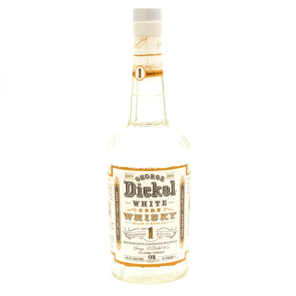 George Dickel - White Corn Whiskey Foundation Recipe #1 - 750ml