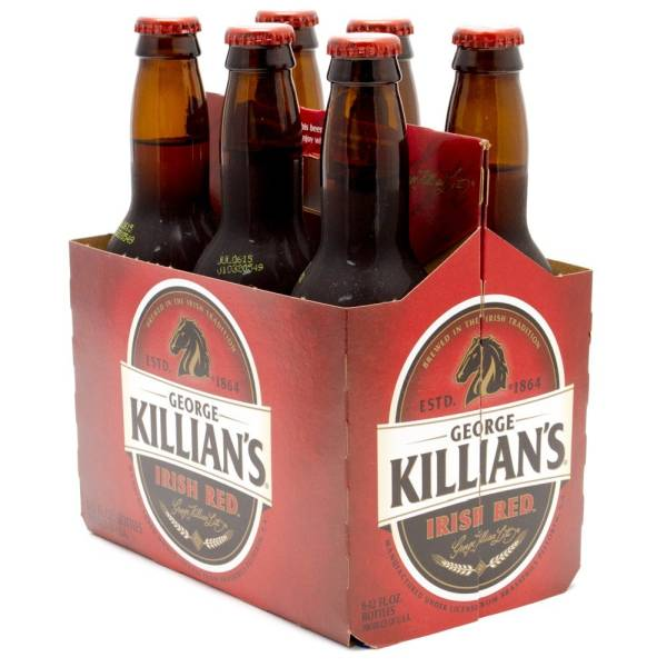 George Killian's - Irish Red - 12oz Bottles - 6 pack