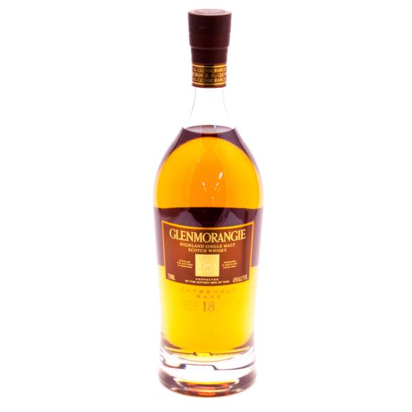 Glenmorangie - Aged 18 Years - Highland Single Malt Scotch Whisky - 750ml