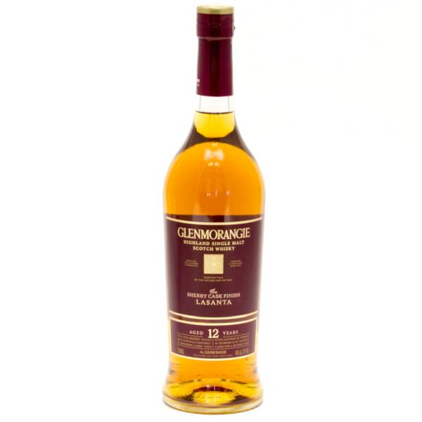 Glenmorangie - Lasanta - Highland Single Malt Scotch Whisky Aged 12 Years - 750ml