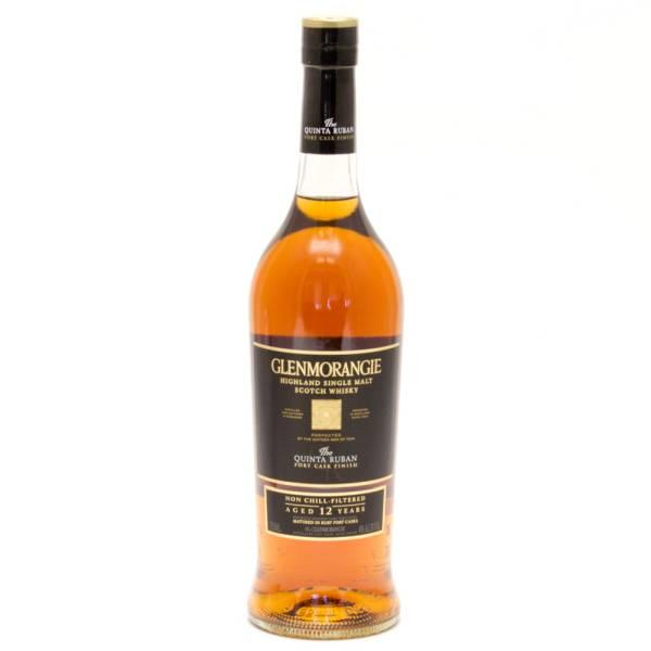 Glenmorangie - Quinta Ruban - Highland Single Malt Scotch Whisky - Aged 12 Years - 750ml