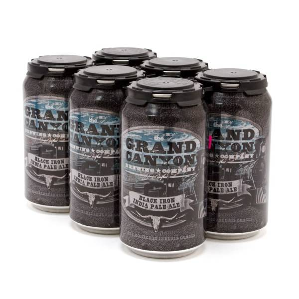 Grand Canyon - Black Iron IPA - 12oz Can - 6 Pack