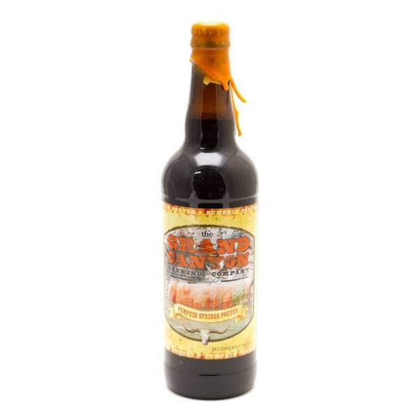 Grand Canyon - Pumpkin Springs Porter - 22oz Bottle
