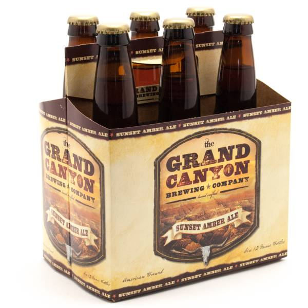 Grand Canyon - Sunset Amber Ale - 12oz Bottle - 6 Pack