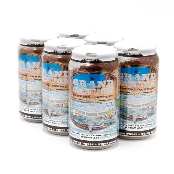 Grand Canyon - White Water Wheat Ale - 12oz Can - 6 Pack