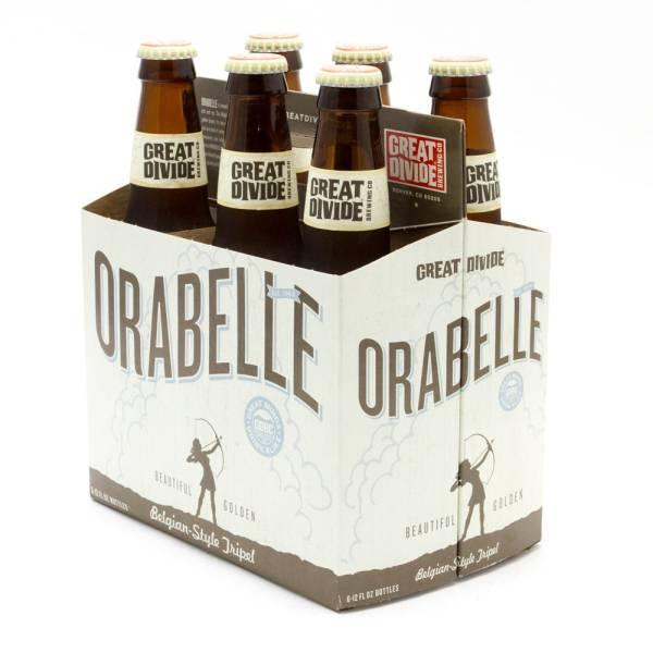 Great Divide - Orabelle - Belgian-Style Tripel - 12oz Bottle - 6 Pack