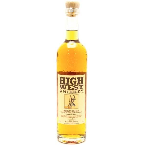 High West - Whiskey American Prairie - 750ml