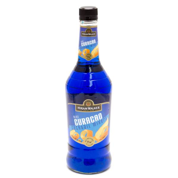 Hiram Walker - Blue Curacao Cocktail Mixer - 750ml