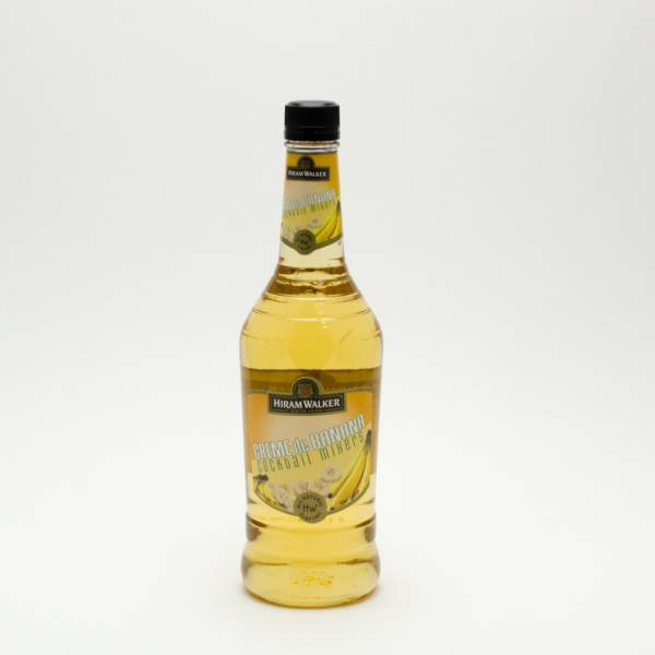 Hiram Walker - Creme de Banana Cocktail Mixers - 750ml