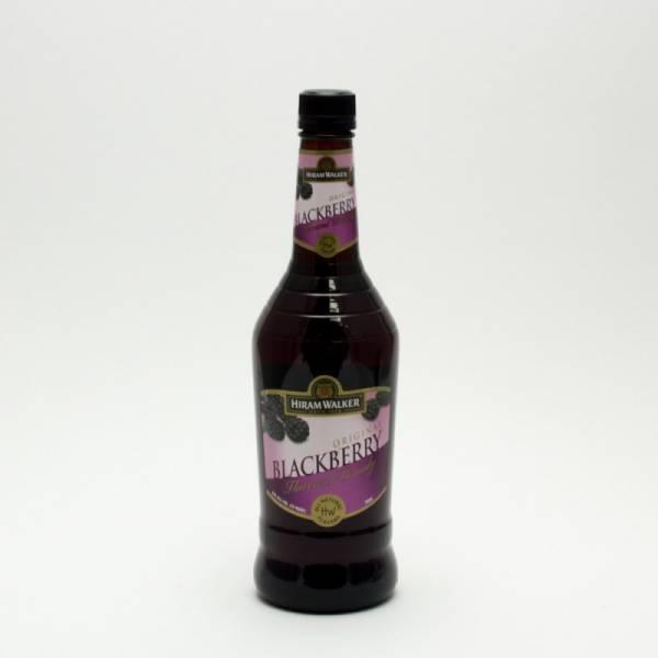 Hiram Walker - Original Blackberry Brandy - 750ml