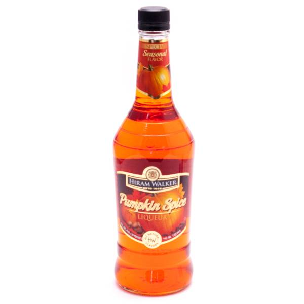 Hiram Walker - Pumpkin Spice Liqueur - 30 Proof - 750ml