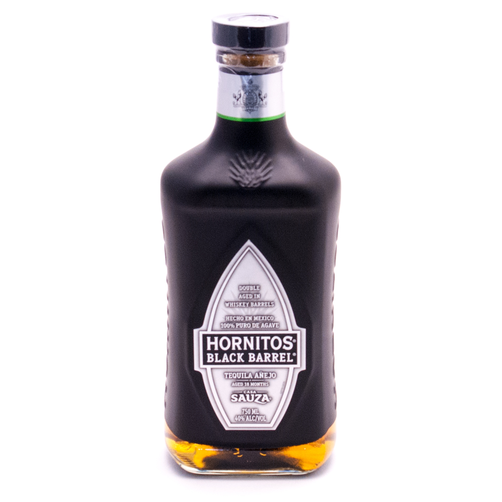 Hornitos - Black Barrel Anejo Tequila - 750ml