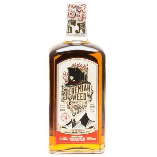 Jeremiah Weed - Cinnamon Whiskey and Spices - 750ml