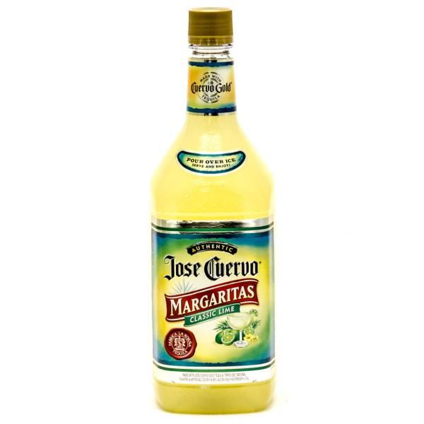 Jose Cuervo - Margaritas Classic Lime - Pour & Serve Cocktail - 1.75L