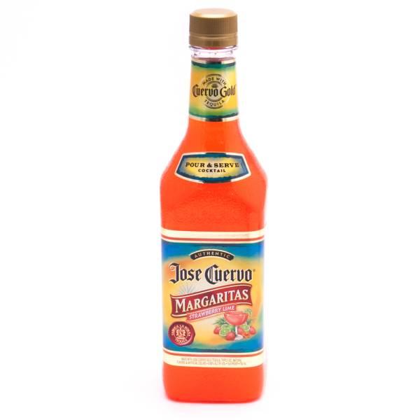Jose Cuervo - Margaritas Strawberry Lime - Pour & Serve Cocktail - 750ml