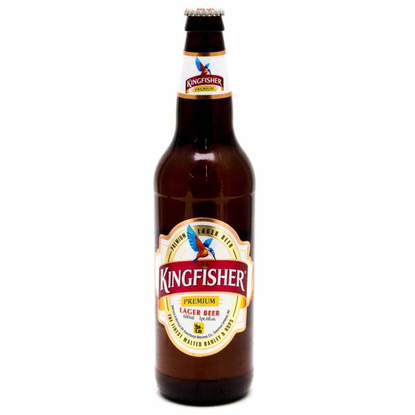 Kingfisher Lager Beer 22oz Bottle Beer Wine And