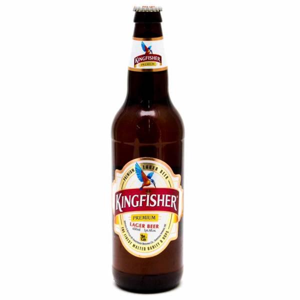 Kingfisher - Lager Beer - 22oz Bottle