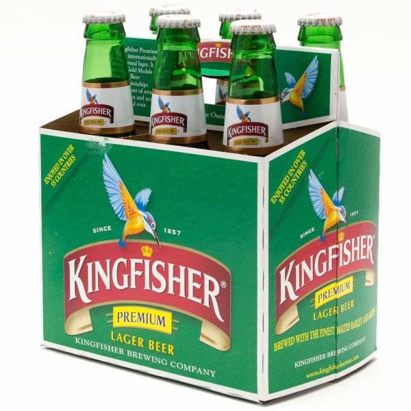 Kingfisher - Premium Lager Beer - 11.2oz Bottle - 6 Pack