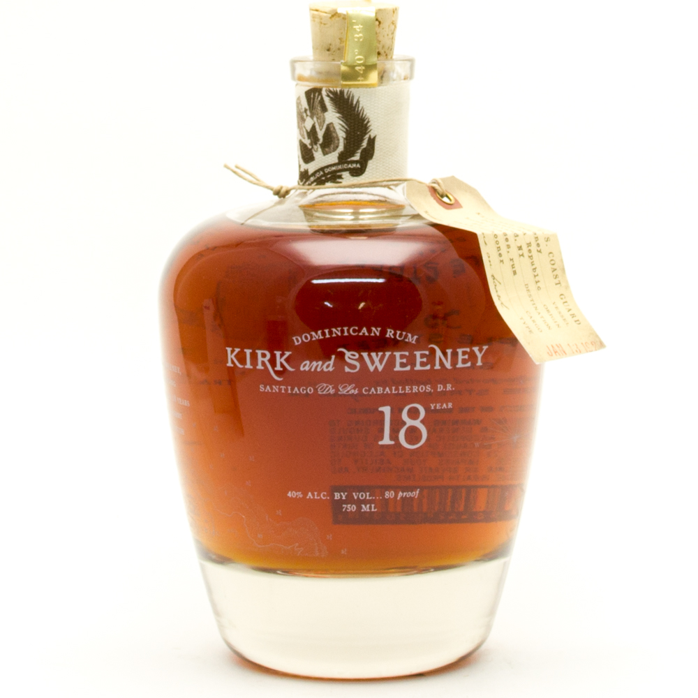 Kirk And Sweeeney -  Aged 18 Years - Dominican Rum -  750ml