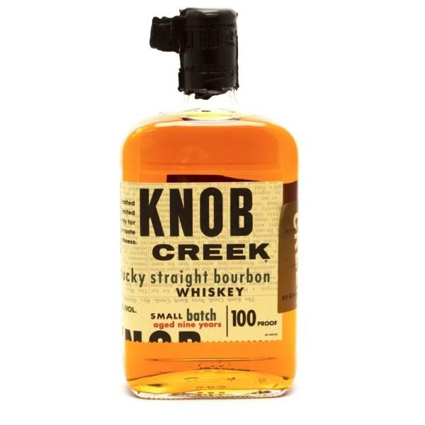 Knob Creek - Kentucky Straight Bourbon Whiskey 100 proof - 750ml