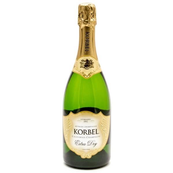 Korbel - Extra Dry Champagne - 750ml