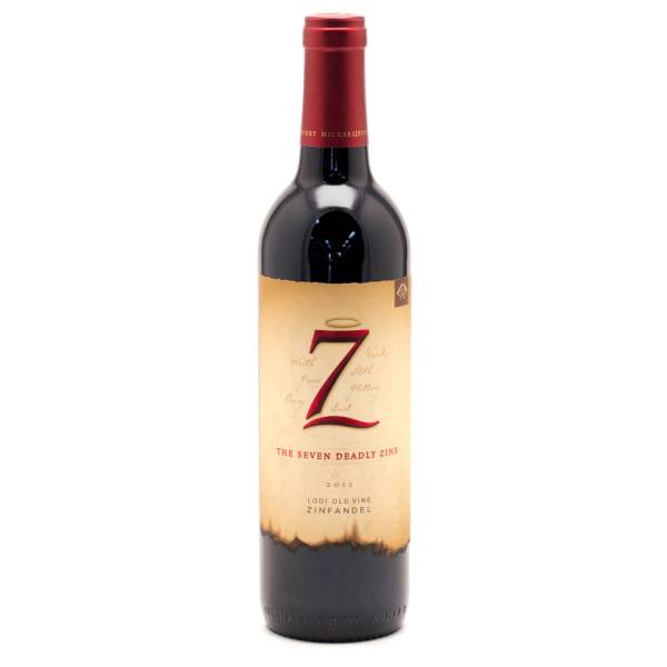 Michael David 7 Seven Deadly Zins Zinfandel 2012