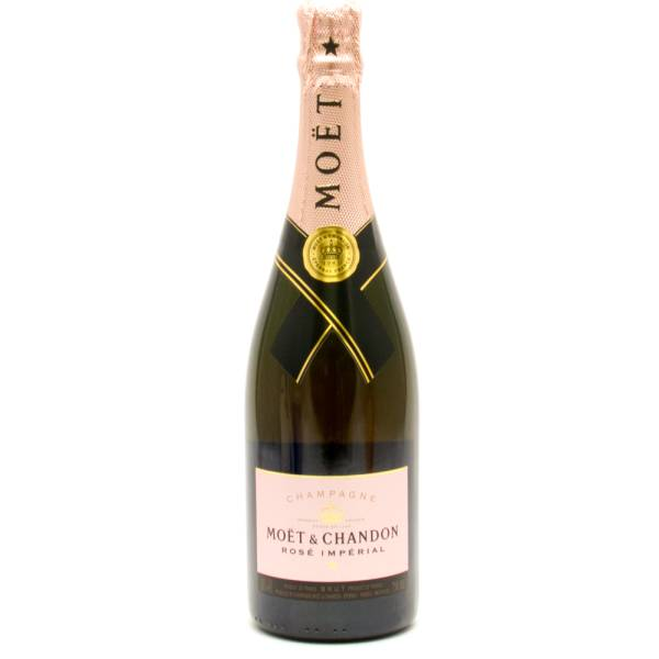 Moet & Chandon - Champagne Rose Imperial - 750ml