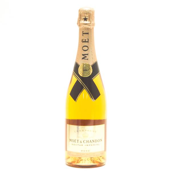 Moet & Chandon - Nectar Imperial Rose - Champagne - 750ml