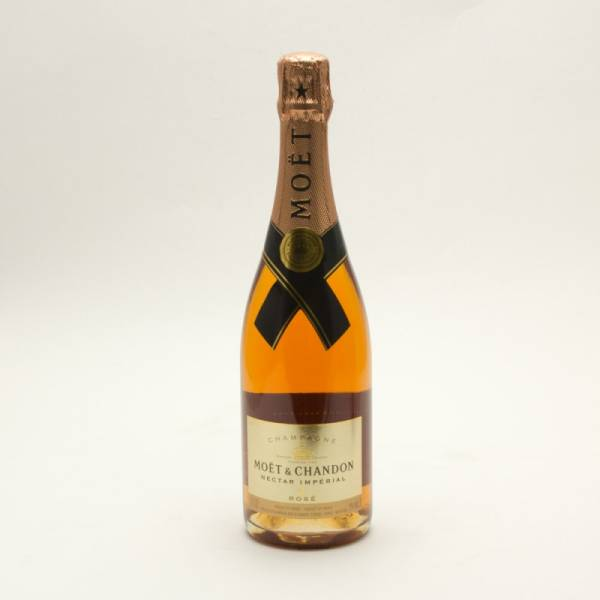 Moet & Chandon - Nectar Imperial Rose Champagne - 750ml