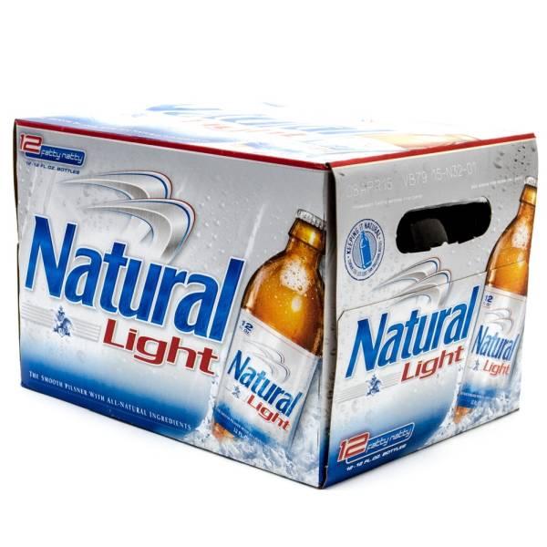 Natural Light - Beer - 12oz Bottle - 12 Pack